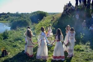 Русские народные календарные игры